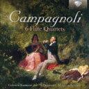 カンパニョーリ(1751-1827) / 6つのフルート四重奏曲 アンサンブル・イル・デメトリオ 輸入盤 【CD】