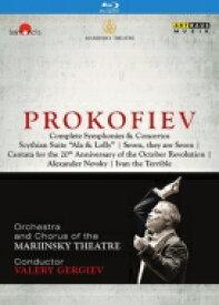 【送料無料】 Prokofiev プロコフィエフ / Comp.symphonies, Concertos, Etc: Gergiev / Kirov Opera O & Cho Etc 【BLU-RAY DISC】