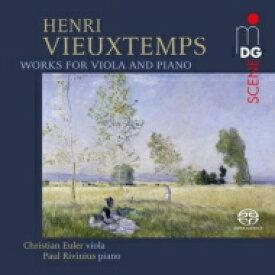 【送料無料】 Vieuxtemps ブュータン / ヴィオラとピアノのための作品集 クリスティアン・オイラー、パウル・リヴィニウス 輸入盤 【SACD】