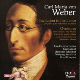【送料無料】 Weber ベーバー / Invitation To The Dance, Overtures: Ancerl / Scherchen / Sawallisch / Klemperer / Heisser(P) 輸入盤 【CD】