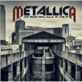 【送料無料】 Metallica メタリカ / Live: Reunion Arena, Dallas, Tx, 5 Feb 89 (2CD) 輸入盤 【CD】