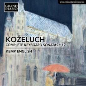 コジェルフ(1747-1818) / ピアノ・ソナタ全集 第12集 ケンプ・イングリッシュ 輸入盤 【CD】