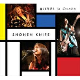 少年ナイフ / Alive! In Osaka 【DVD】
