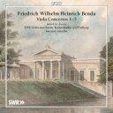 【送料無料】 ベンダ、フリードリヒ・ヴィルヘルム・ハインリヒ(1745-1814) / ヴィオラ協奏曲集 ジャン=エリック…