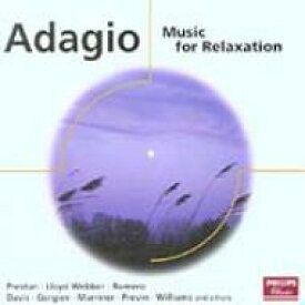 Adagio -music For Relaxation 輸入盤 【CD】