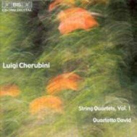 【送料無料】 Cherubini ケルビーニ / String Quartet.1, 2: Quartetto David 輸入盤 【CD】