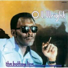Ov Wright オービーライト / Bottom Line 【CD】