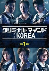 【送料無料】 クリミナル・マインド:KOREA DVD-BOX1(5枚組) 【DVD】