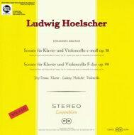 【送料無料】 Brahms ブラームス / チェロ・ソナタ第1弾、第2弾 ヘルシャー(Vc)、デームス(P) (180グラム重量盤レコード / Spectrum Sound) 【LP】