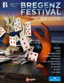 【送料無料】 ブレゲンツ音楽祭 湖上オペラ・ボックス・セット〜『アイーダ』『アンドレア・シェニエ』『魔笛』『トゥーランドット』『カルメン』(5BD) 【BLU-RAY DISC】