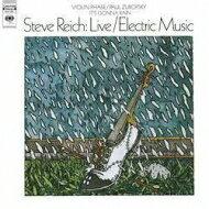 【送料無料】 ライヒ、スティーヴ(1936-) / Live / Electric Music-Violin Phase: Zukofsky (アナログレコード) 【LP】