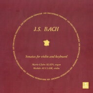 Bach, Johann Sebastian バッハ / ヴァイオリン・ソナタ 第1番〜第6番 ミシェル・オークレール 、マリー=クレール・アラン (2枚組 / 180グラム重量盤レコード) 【LP】