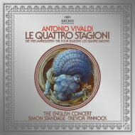 Vivaldi ヴィヴァルディ / ヴァイオリン協奏曲集「四季」サイモン・スタンデイジ(ヴァイオリン)、トレヴァー・ピノック指揮&イングリッシュ・コンサート (180グラム重量盤レコード) 【LP】