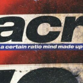 【送料無料】 A Certain Ratio アサーテインラティオ / Mind Made Up 輸入盤 【CD】