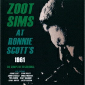 Zoot Sims ズートシムズ / At Ronnie Scott's 1961the Complete Recordings 【CD】