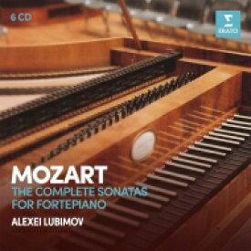 Mozart モーツァルト / ピアノ・ソナタ全集 アレクセイ・リュビモフ(フォルテピアノ)(6CD) 輸入盤 【CD】