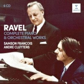Ravel ラベル / 管弦楽曲集、ピアノ協奏曲集、ピアノ曲集 アンドレ・クリュイタンス&パリ音楽院管弦楽団、サンソン・フランソワ(6CD) 輸入盤 【CD】