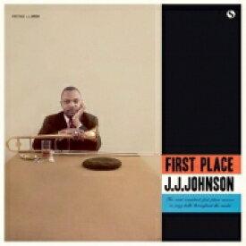 J.J. Johnson ジェイジェイジョンソン / First Place (アナログレコード) 【LP】