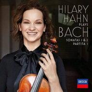 【送料無料】 Bach, Johann Sebastian バッハ / 無伴奏ヴァイオリン・ソナタ第1番、第2番、パルティータ第1番:ヒラリー・ハーン(ヴァイオリン) (2枚組アナログレコード / Decca) 【LP】