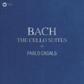 【送料無料】 Bach, Johann Sebastian バッハ / 無伴奏チェロ組曲:パブロ・カザルス(チェロ) (3枚組 / 180グラム重量盤レコード / Warner Classics) 【LP】