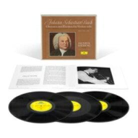 【送料無料】 Bach, Johann Sebastian バッハ / 無伴奏ヴァイオリン・ソナタ&パルティータ:ヘンリク・シェリング(ヴァイオリン) (3枚組 / 180グラム重量盤レコード / Deutsche Grammophon) 【LP】