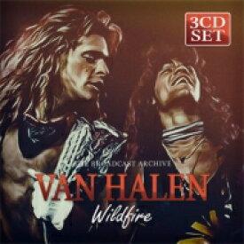 【送料無料】 Van Halen バンヘイレン / Wildfire: The Broadcast Archive (3CD) 輸入盤 【CD】