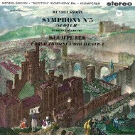 【送料無料】 Mendelssohn メンデルスゾーン / 交響曲第3番『スコットランド』、フィンガルの洞窟、『真夏の夜の夢』より オットー・クレンペラー&フィルハーモニア管弦楽団(SACDシングルレイヤー) 【SACD】
