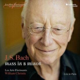 【送料無料】 Bach, Johann Sebastian バッハ / ミサ曲ロ短調 ウィリアム・クリスティ&レザール・フロリサン(2CD)(日本語解説付) 【CD】
