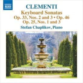 Clementi クレメンティ / ピアノ・ソナタ集 ステファン・チャプリコフ 輸入盤 【CD】