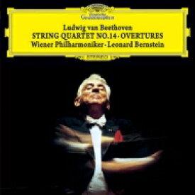 【送料無料】 Beethoven ベートーヴェン / 弦楽四重奏曲第14番(弦楽合奏版)、序曲集 レナード・バーンスタイン&ウィーン・フィル(シングルレイヤー) 【SACD】