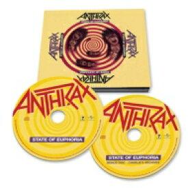 【送料無料】 Anthrax アンスラックス / State Of Euphoria (2CD) 輸入盤 【CD】