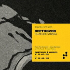 【送料無料】 Beethoven ベートーヴェン / String Quartet, 15, 16, : Quatuor Strada 輸入盤 【CD】