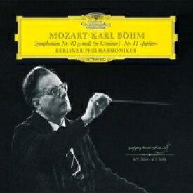 【送料無料】 Mozart モーツァルト / 交響曲第40番、第41番『ジュピター』 カール・ベーム&ベルリン・フィル(シングルレイヤー) 【SACD】