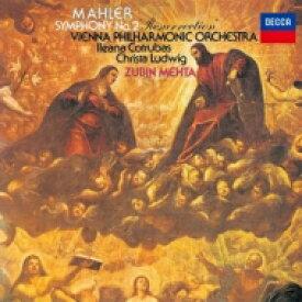【送料無料】 Mahler マーラー / 交響曲第2番『復活』 ズービン・メータ&ウィーン・フィル、クリスタ・ルートヴィヒ、イレアナ・コトルバス、他(シングルレイヤー) 【SACD】