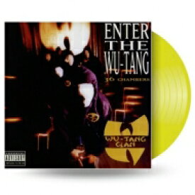WU-TANG CLAN ウータンクラン / Enter The Wu-Tang Clan (36 Chambers) (カラーヴァイナル仕様 / アナログレコード) 【LP】