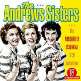 Andrews Sisters アンドリューズシスターズ / Absolutely Essential 3 CD Collection (3CD) 輸入盤 【CD】