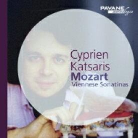 Mozart モーツァルト / 6つのウィーンのソナチネ シプリアン・カツァリス 輸入盤 【CD】