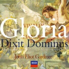 Vivaldi / Handel / ヴァイヴァルディ&ヘンデル:グローリア、他 ガーディナー/イングリッシュ・バロック・ソロイスツ 輸入盤 【CD】