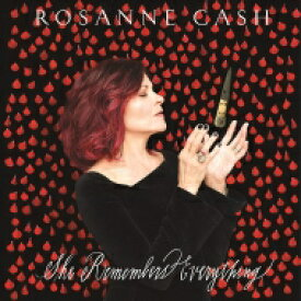Rosanne Cash / She Remembers Everything 【LP】