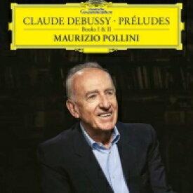 【送料無料】 Debussy ドビュッシー / 前奏曲集第1巻&第2巻:マウリツィオ・ポリーニ(ピアノ) (2枚組 / 180グラム重量盤レコード / Deutsche Grammophon) 【LP】