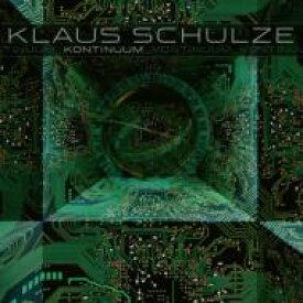【送料無料】 Klaus Schulze クラウスシュルツェ / Kontinuum (3枚組アナログレコード) 【LP】
