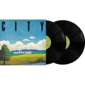 【送料無料】 はっぴいえんど ハッピイエンド / CITY / HAPPY END BEST ALBUM (45回転 / 2枚組 / 180グラム重量盤レコード) 【LP】