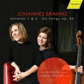 【送料無料】 Brahms ブラームス / チェロ・ソナタ第1番、第2番、歌曲編曲集 ユリア・ハーゲン、アニカ・トロイトラー 輸入盤 【CD】