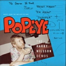 Harry Nilsson ハリーニルソン / Popeye: Music From The Motion Picture - Harry Nilsson Demos 【LP】