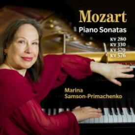 Mozart モーツァルト / ピアノ・ソナタ集 マリーナ・サムソン=プリマチェンコ 輸入盤 【CD】