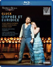 Gluck グルック / 『オルフェオとエウリディーチェ』全曲(フランス語版) ミケーレ・マリオッティ&スカラ座、フアン・ディエゴ・フローレス、他(2018 ステレオ)(日本語字幕付) 【BLU-RAY DISC】