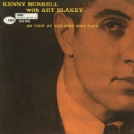 【送料無料】 Kenny Burrell ケニーバレル / On View At The Five Spot Cafe (高音質盤 / 45回転 / 2枚組 / 180グラム重量盤レコード / Analogue Productions*JZ) 【LP】