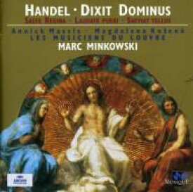 Handel ヘンデル / Motett、Dixit Dominus、Salve Regina ミンコフスキ / Musiciens Du Louvre 輸入盤 【CD】