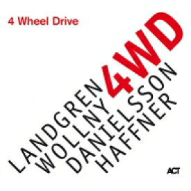 Nils Landgren / Michael Wollny / Lars Danielsson / Wolfgang Haffner / 4 Wheel Drive (180g) 【LP】
