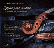 【送料無料】 Scarlatti Alessandro スカルラッティアレッサンドロ / リコーダーとヴァイオリンのカンタータ集 ホセチュ・オブレゴン&ラ・リティラータ 輸入盤 【CD】